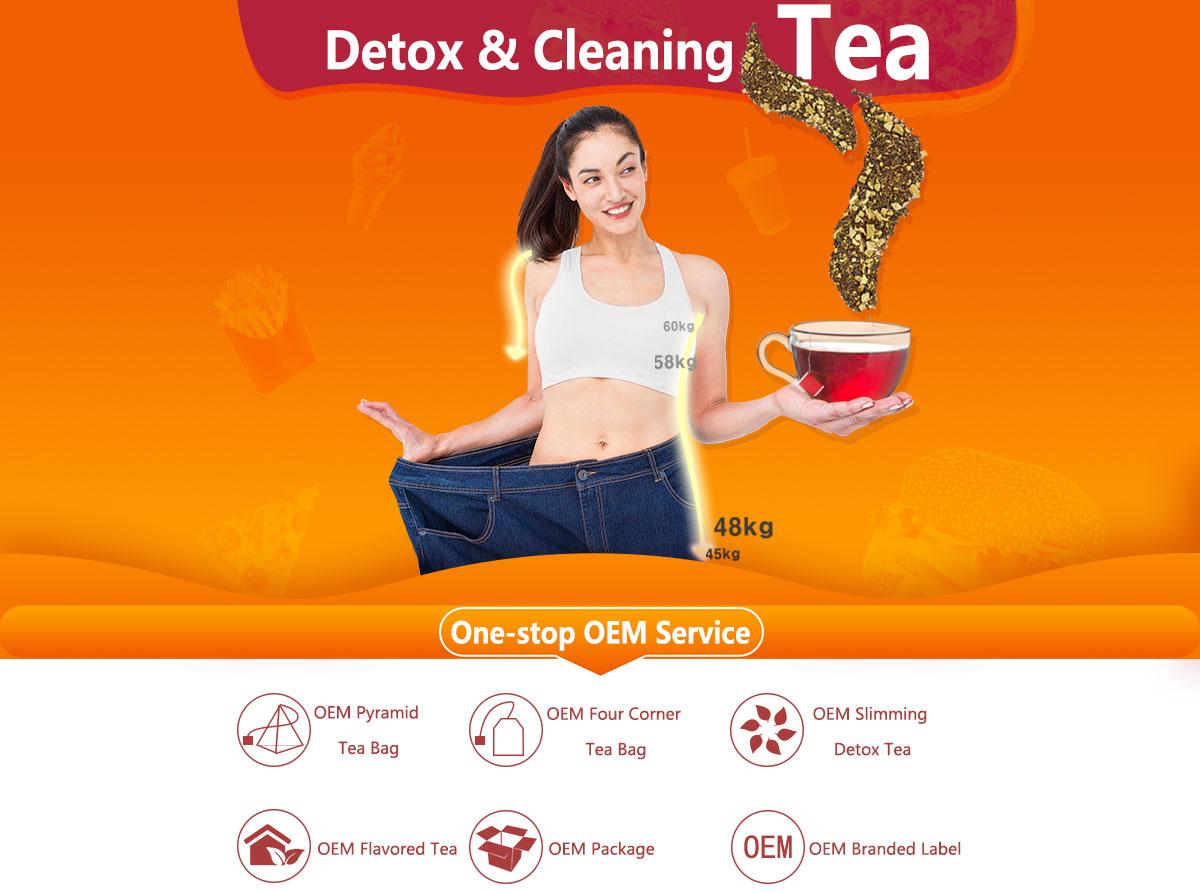 Detoxification Tea - 14 Days Teatox To Weight Loss | Runming