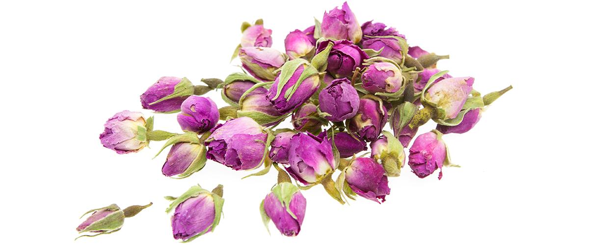how to make rose bud tea