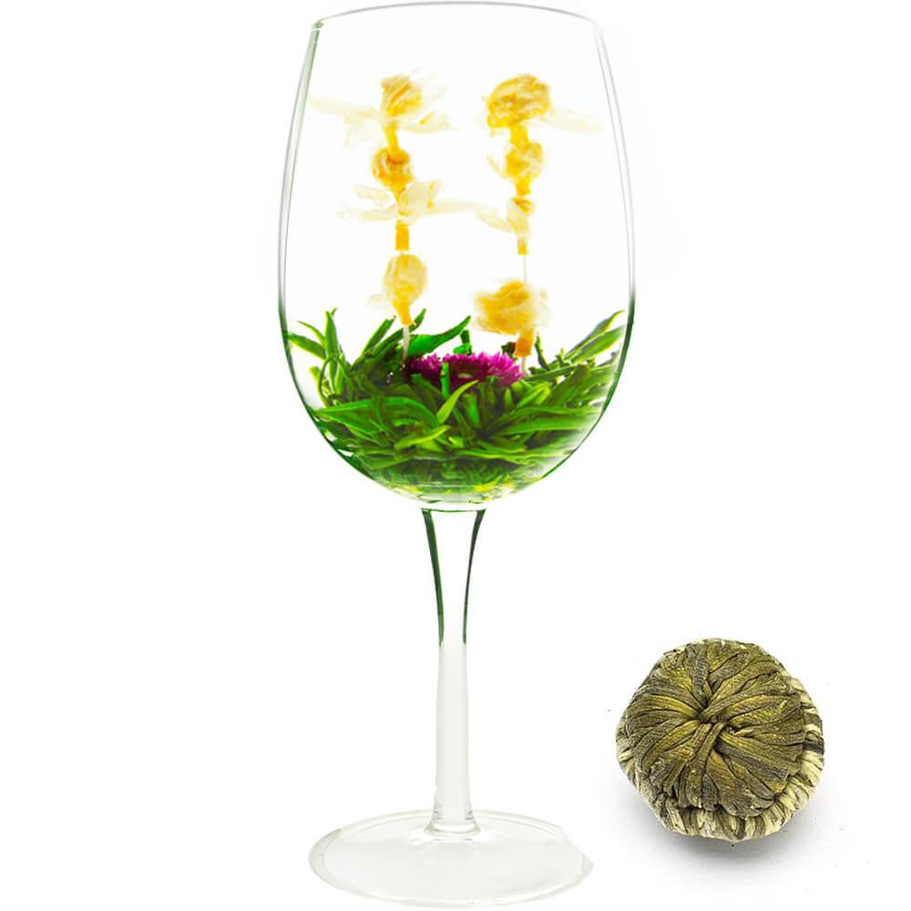 China Healthy Gift Blooming Tea | Fruit Flavor Blooming
